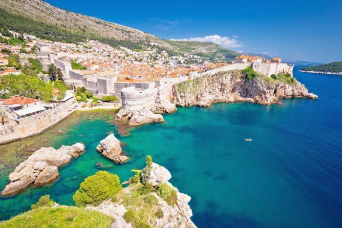 クロアチア ドブロブニクの風景