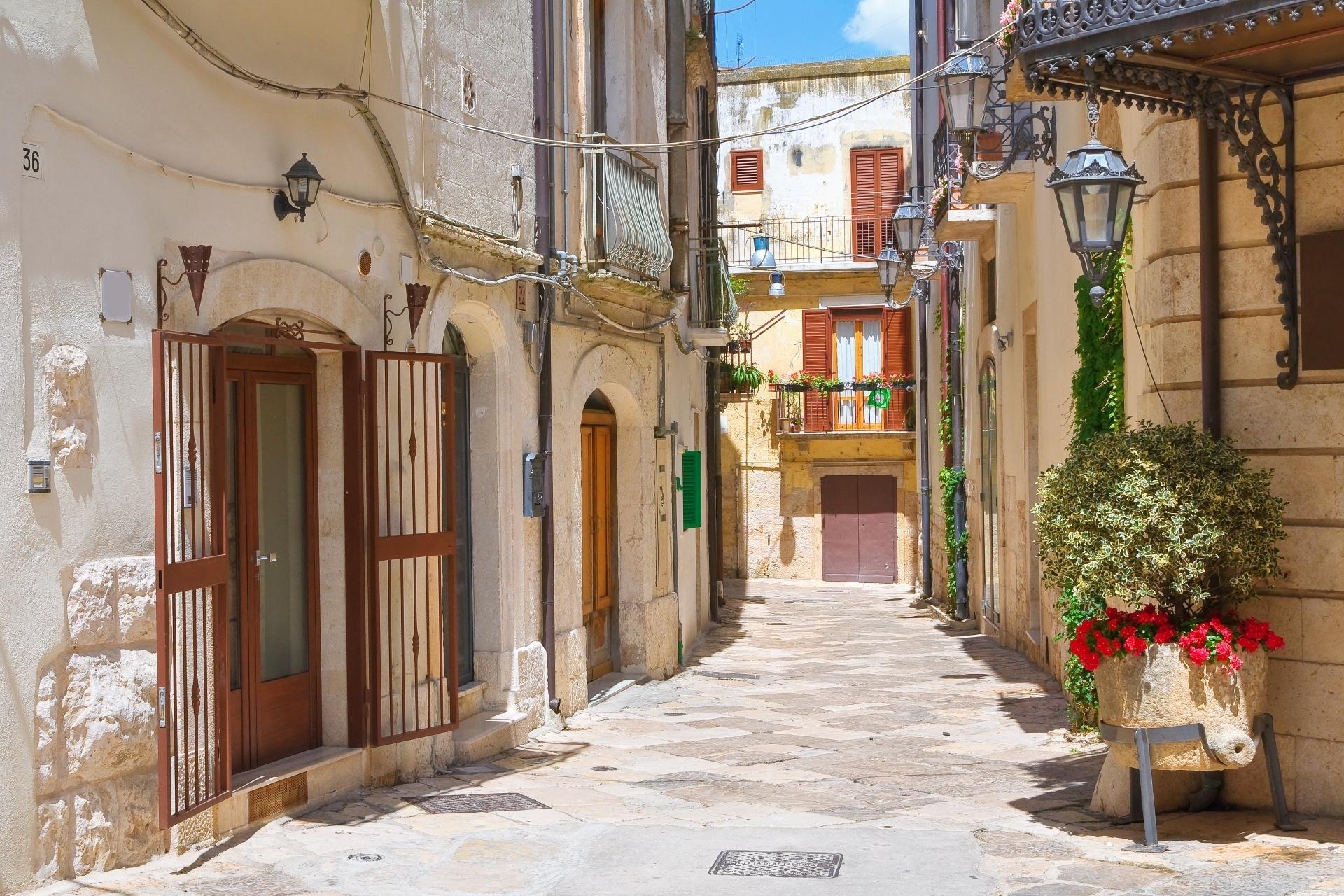 イタリア アルタムーラの路地