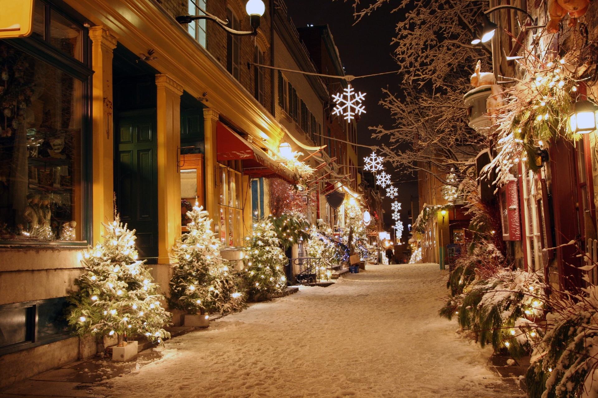 カナダ ケベック・シティの路地