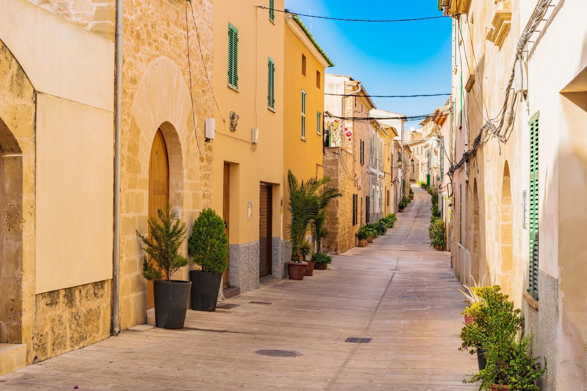 スペイン マヨルカ島の路地