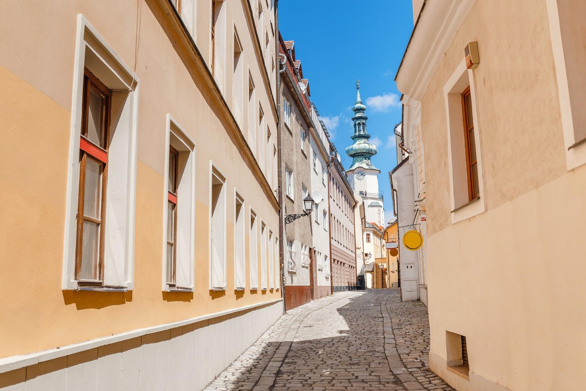 スロバキア ブラチスラバの路地