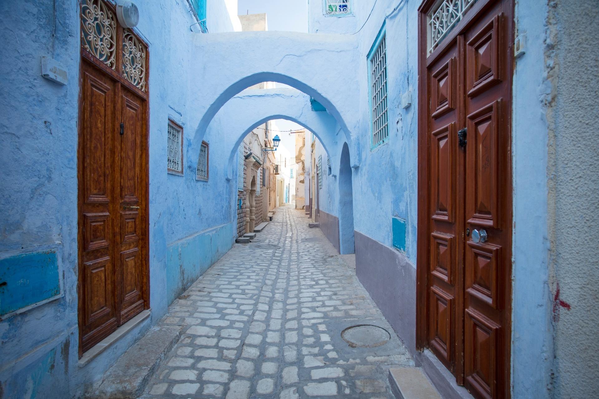 チュニジアの路地