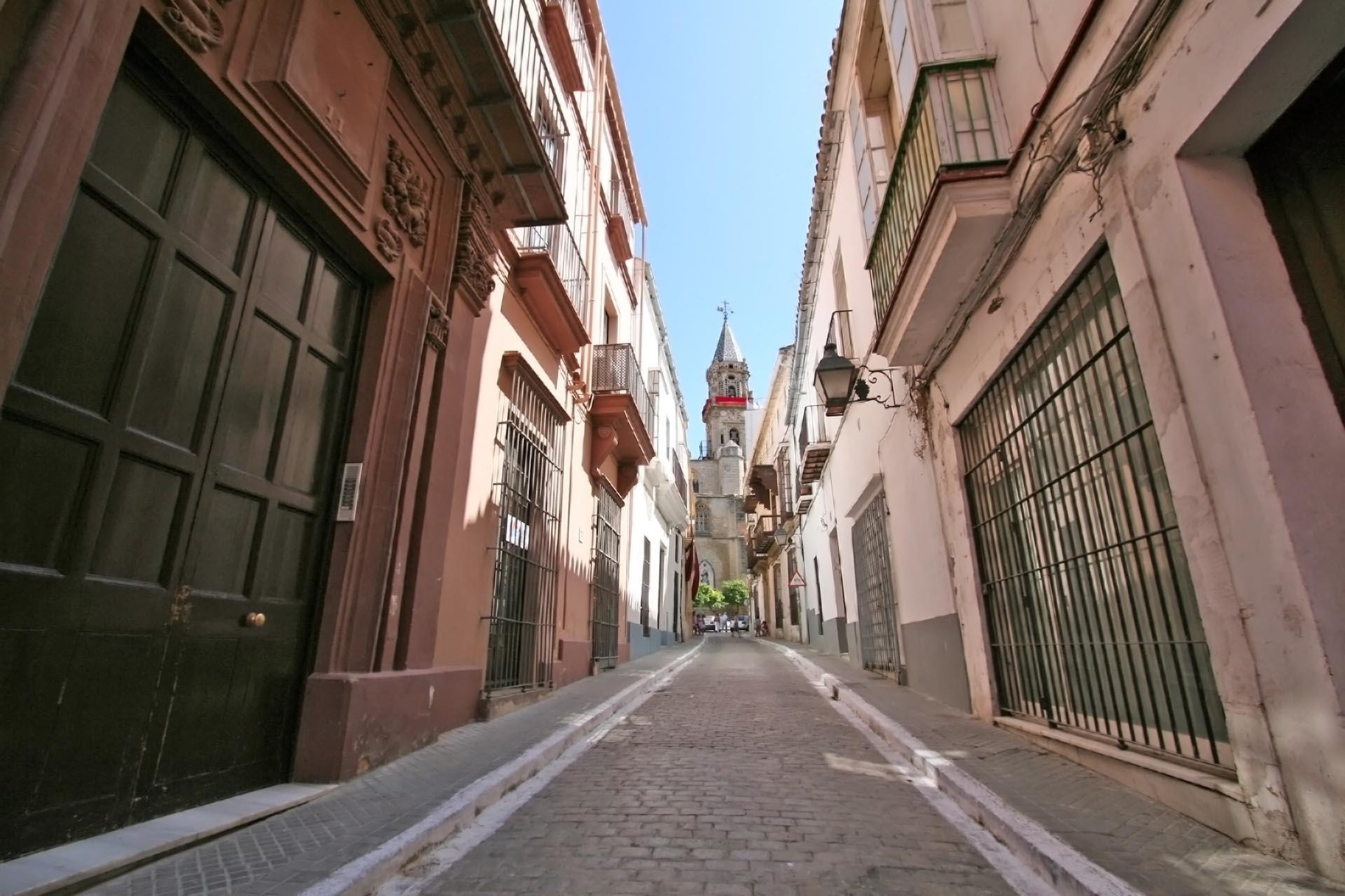 スペイン ヘレス・デ・ラ・フロンテーラの路地