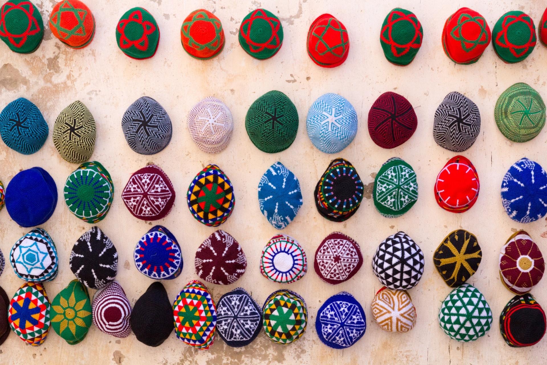 エッサウィラの町角 モロッコの風景