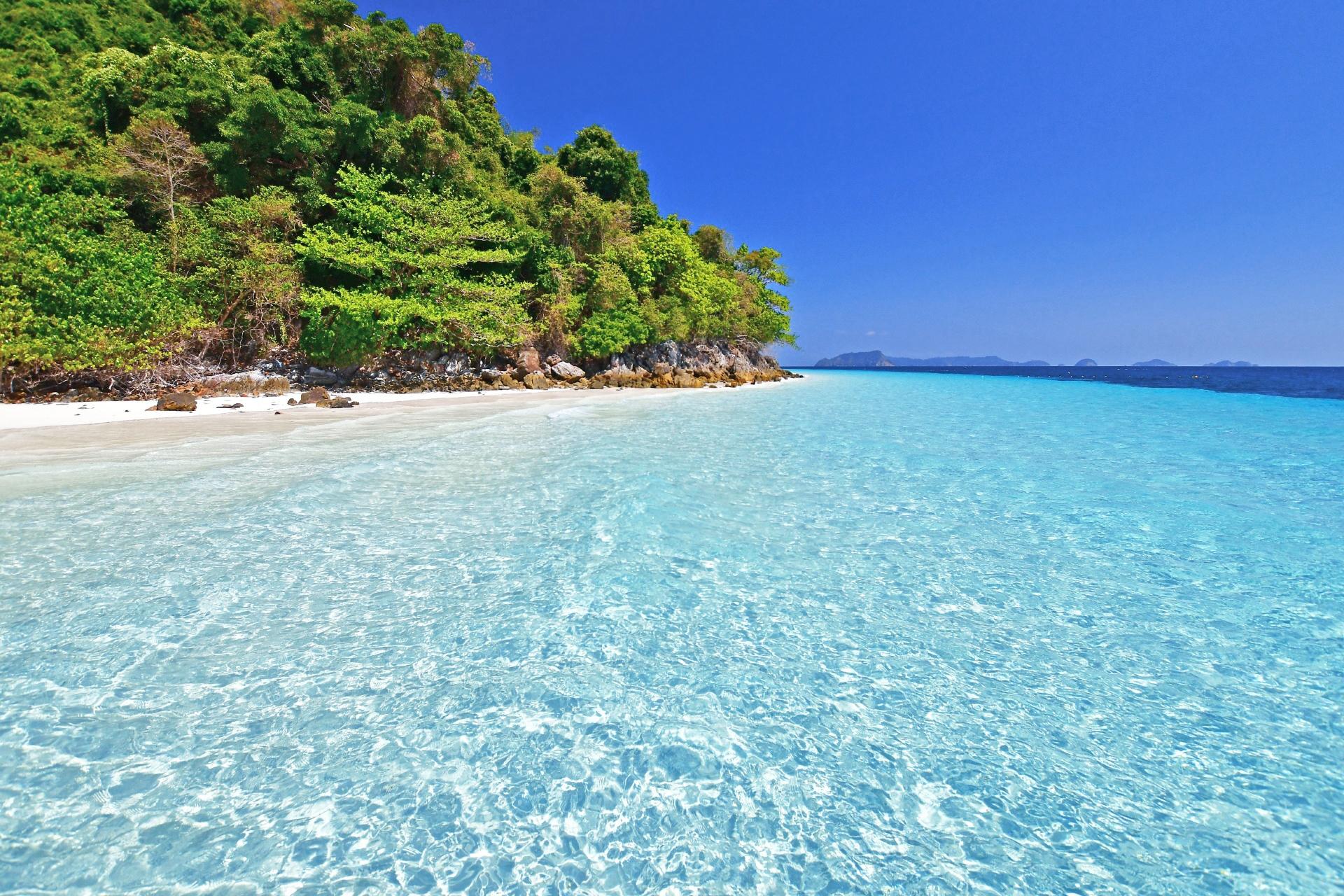 アンダマン海 ミャンマーの海