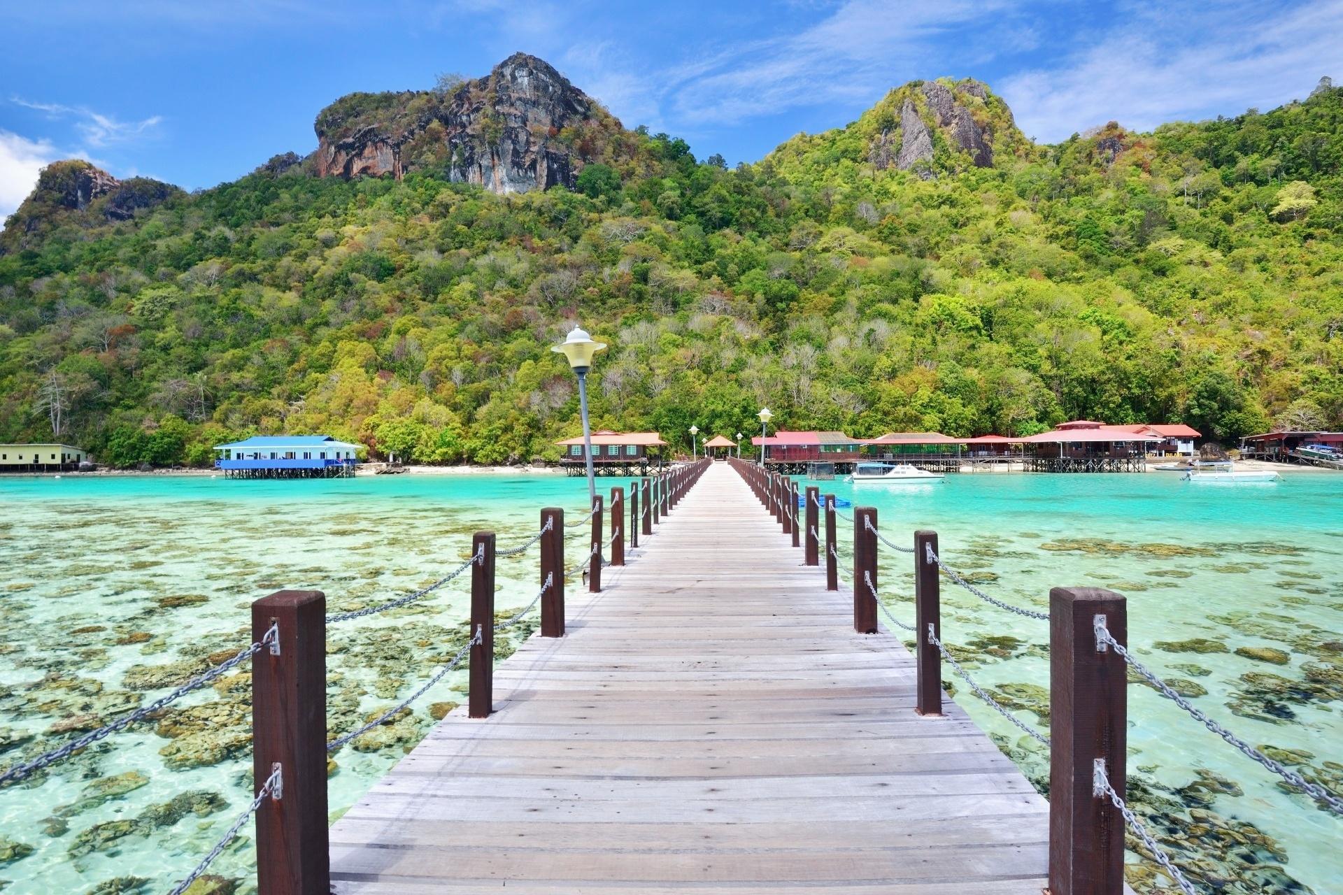 マレーシア ボヘイデュラン島