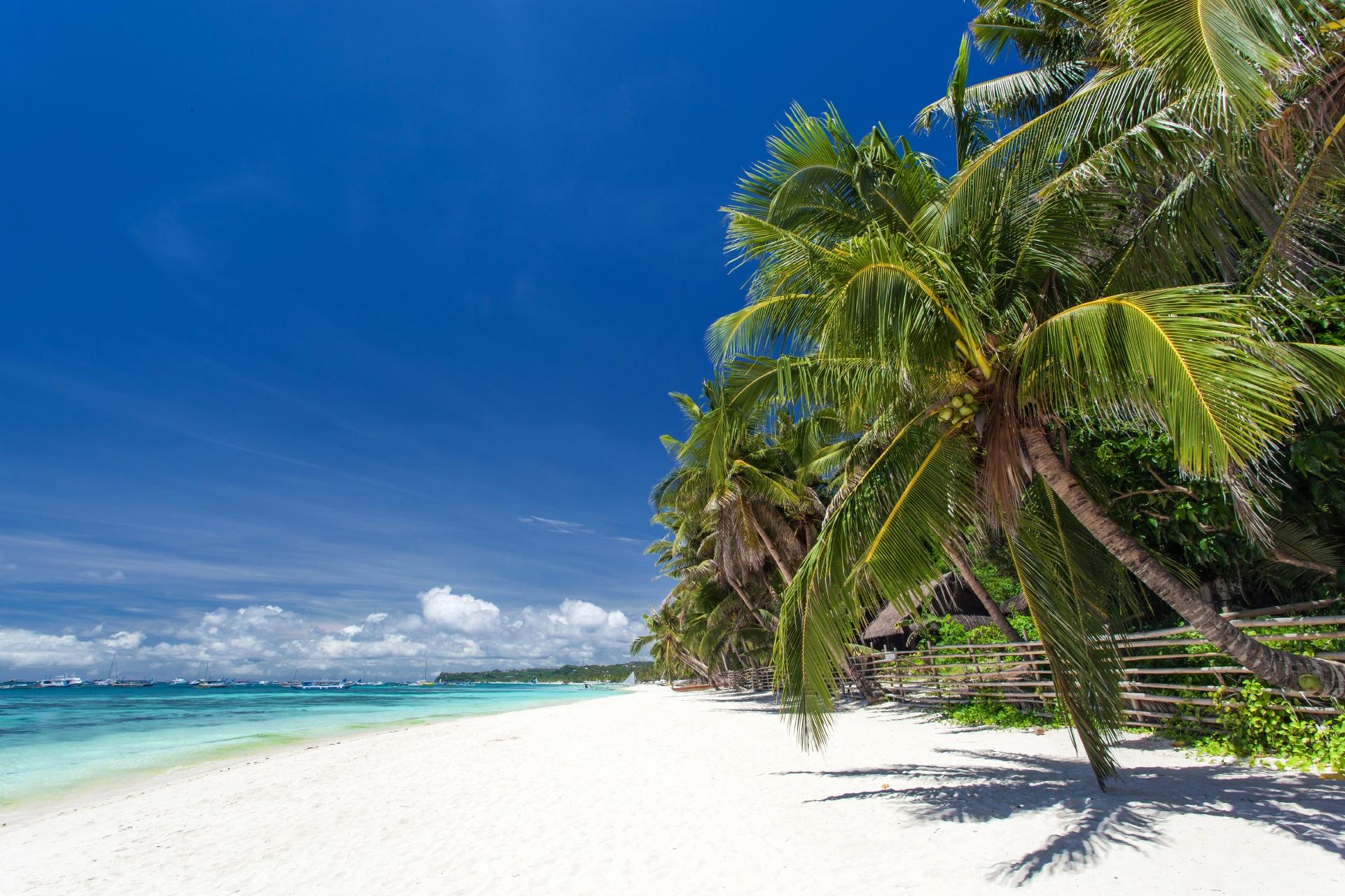 フィリピン ボラカイ島の風景