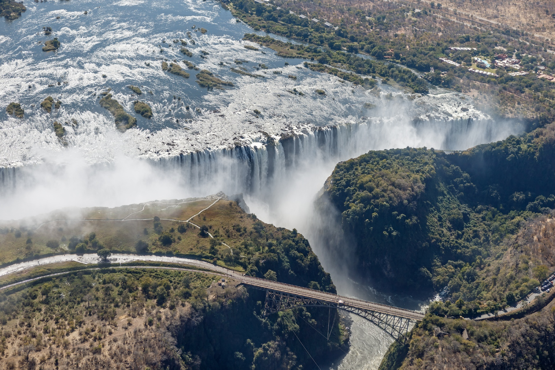 ヴィクトリア滝