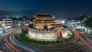 韓国の風景